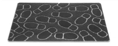 Rubberen Buitenmat met voetstapjes 60 x 90 cm