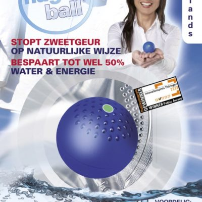 Blue Magic Ball voor uw wasgoed