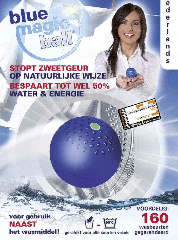 Blue Magic Ball voor uw wasgoed