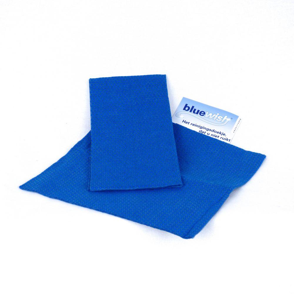 Blue Wish - het antibacteriële schoonmaakdoekje - dat u niet ruikt