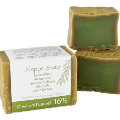 Natuurlijk Traditionele Aleppo zeep met 16% Laurier olie