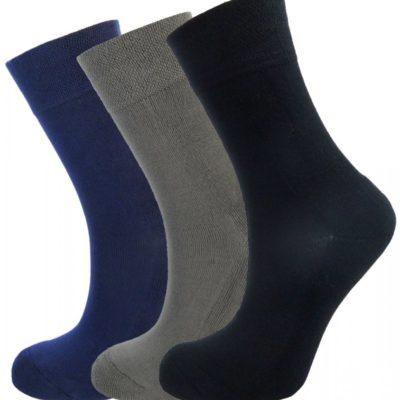 Bamboe sokken 3 paar Diverse kleuren en maten
