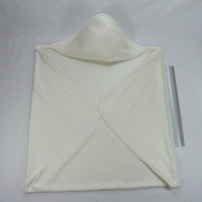Babycape - omslagdoek Bamboe in creme