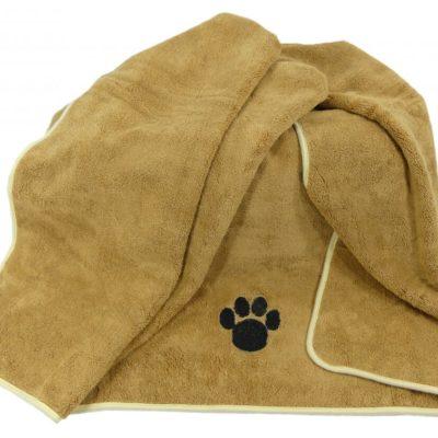 Professionele Microvezel huisdier - honden deken - super absorberend - XLarge 90x120cm