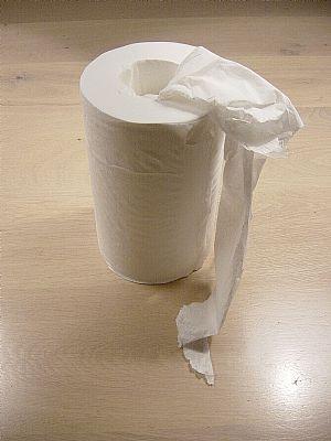 Handdoekrol Pull Paper